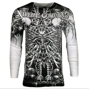 Xtreme Couture AFFLICTION Mens THERMAL CATACOMBS